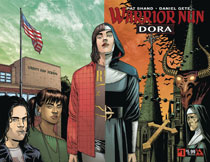 Image: Warrior Nun: Dora #1 (wraparound cover) - Avatar Press Inc