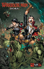 Image: Warrior Nun: Dora #1 (variant cover - Middle Ages) - Avatar Press Inc