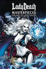 Comic Book Lady Death Scorched Earth #2 Premium Foil Jaime Tyndall Ltd Ed