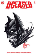 Image: DCeased #1 (DFE signed/remarked Haeser sketch - Batman) - Dynamic Forces