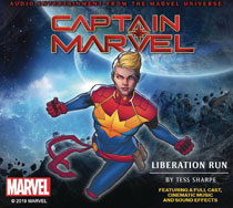 Image: Captain Marvel Audio CD: Liberation Run  - Graphic Audio/The Cutting Corp