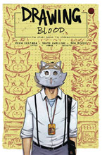 Image: Drawing Blood #4 (cover A - Bishop) - Kevin Eastman Studios