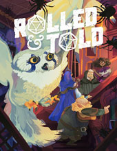 Image: Rolled & Told #12 - Lion Forge