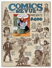 Image: Comics Revue Presents #399-400 (August 2019) - Manuscript Press
