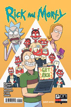 Image: Rick & Morty #53 (cover A - Marc Ellerby) - Oni Press Inc.