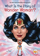 Image: What Is the Story of Wonder Woman? SC  - Penguin Young Readers