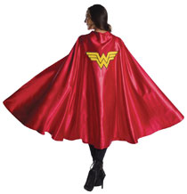 be6d1b1e Image: DC Heroes Wonder Woman Deluxe Costume: Cape - Rubies Costumes  Company Inc