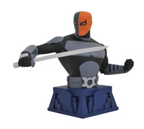 Image: Batman The Animated Series Bust: Beware the Batman - Deathstroke  - Diamond Select Toys LLC