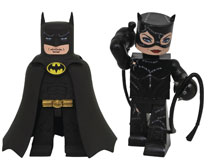 Image: DC Batman Movie Classic Vinimate 2-Pack: Batman & Catwoman  - Diamond Select Toys LLC