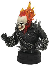 Image: Marvel Bust: Ghost Rider  (Comic) (1/6 Scale) - Diamond Select Toys LLC