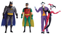 Image: Batman Animated Series 12-Piece Bendable Figure 2-Pack Assortment  - N J Croce Company