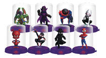 Image: Spider-Man: Into the Spider-Verse Domez 24-Piece Blind Mystery Box Display  - Ucc Distributing