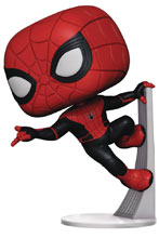 Image: Pop! Marvel Vinyl Figure: Spider-Man: Far from Home - Spider-Man  (Upgraded Suit) - Funko