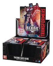 Image: Transformers TCG Booster Box: Seige  (30-count) - Wizards of The Coast