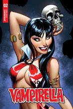 Image: Vampirella Vol. 05 #2 (incentive cover - Campbell sneak peek) (10-copy) - Dynamite