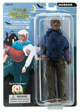 Image: Mego Horror Wave 5 Universal Monsters 8-Inch Action Figure: Face of the Screaming Werewolf  - Mego Corporation