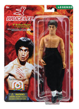 Image: Mego Legends Wave 5 8-Inch Action Figure: Bruce Lee  - Mego Corporation