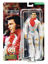 Image: Mego Legends Wave 5 8-Inch Action Figure: Elvis Presley  (Aloha Jumpsuit) - Mego Corporation