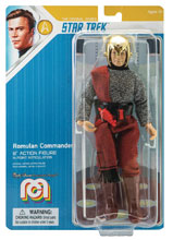 Image: Mego Sci-Fi Wave 5 Star Trek 8-Inch Action Figure: Romulan Commander  - Mego Corporation