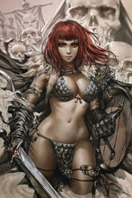 Image: Vampirella / Red Sonja #1 (incentive cover - Chew virgin) (25-copy) - Dynamite