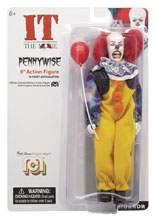 Image: Mego Horror Wave 7 Action Figure: It - Pennywise  (1990) (8 Inches) - Mego Corporation
