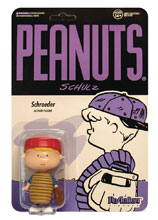 Image: Peanuts Reaction Figure: Baseball Schroeder  - Super 7