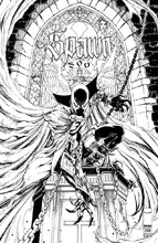 Image: Spawn #300 (cover M - Campbell black & white) - Image Comics