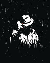 Image: Question: The Deaths of Vic Sage #4 (variant cover - A. Sorrentino) - DC - Black Label