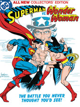 Image: Superman vs. Wonder Woman Tabloid Edition HC  - DC Comics