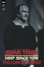 Image: Star Trek: DS9 - Too Long a Sacrifice #4 (cover B - Photo) - IDW Publishing