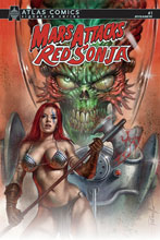 Image: Mars Attacks / Red Sonja #1 (cover A - Parrillo)  [2020] - Dynamite