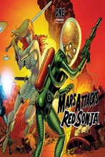 Image: Mars Attacks / Red Sonja #1 (cover E - Kitson Card Homage) - Dynamite