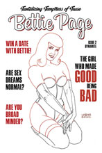 Image: Bettie Page Vol. 03 #2 (incentive 1:35 cover - Linsner B&W)  [2020] - Dynamite