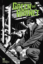 Image: Green Hornet Vol. 03 #2 (incentive 1:20 cover - Weeks B&W) - Dynamite