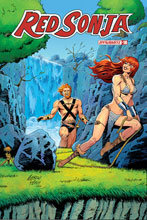 Image: Red Sonja Vol. 05 #18 (incentive 1:10 cover - Pepoy Seduction) - Dynamite