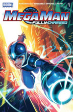 Image: Mega Man: Fully Charged #1 (cover A - Main) - Boom! Studios