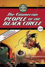 Image: Cimmerian: People of the Black Circle #1 (cover E - Casas Detective 27 Homage) - Ablaze