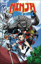 Image: Ninja High School #178  [2020] - Antarctic Press