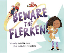 Image: Captain Marvel: Beware the Flerken Picture Book  - Marvel Press