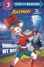 Image: DC Super Heroes: Batman - Harley at Bat SC  (Young Readers) - Random House Books Young Reade