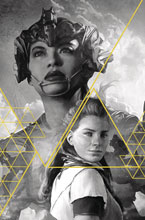 Image: Horizon Zero Dawn #1 (cover J incentive 1:100 - Artgerm Gold Ink) - Titan Comics