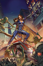 Image: Belle: Ghost & Goblins  (cover A - Vitorino) - Zenescope Entertainment Inc