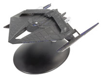 Image: Star Trek Discovery Figure Magazine #30 (Section 31 Ship Medium 2 Nacelles) - Hero Collector
