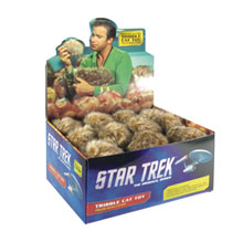 Image: Star Trek TOS Tribble Cat Toy 24-Count Display  - Crowded Coop, LLC