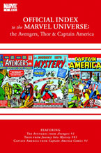 Image: Avengers, Thor & Captain America: Official Index to the Marvel Universe #1 - Marvel Comics