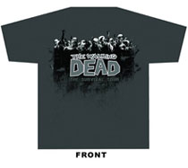 Image: Walking Dead T-Shirt: Survival Tour  (S) - Image Comics
