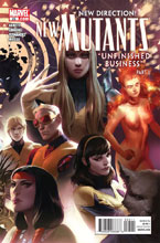 Image: New Mutants #25 - Marvel Comics