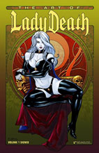 Image: Art of Lady Death Vol. 01 Signed HC  - Boundless Comics