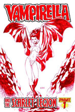Image: Vampirella: Scarlet Legion #1 (10-copy Chen Red incentive cover) (v10) - D. E./Dynamite Entertainment
