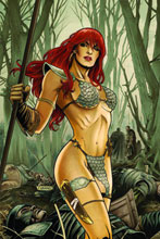 Image: Red Sonja #60 (20-copy Neves Virgin incentive cover) (v20) - D. E./Dynamite Entertainment